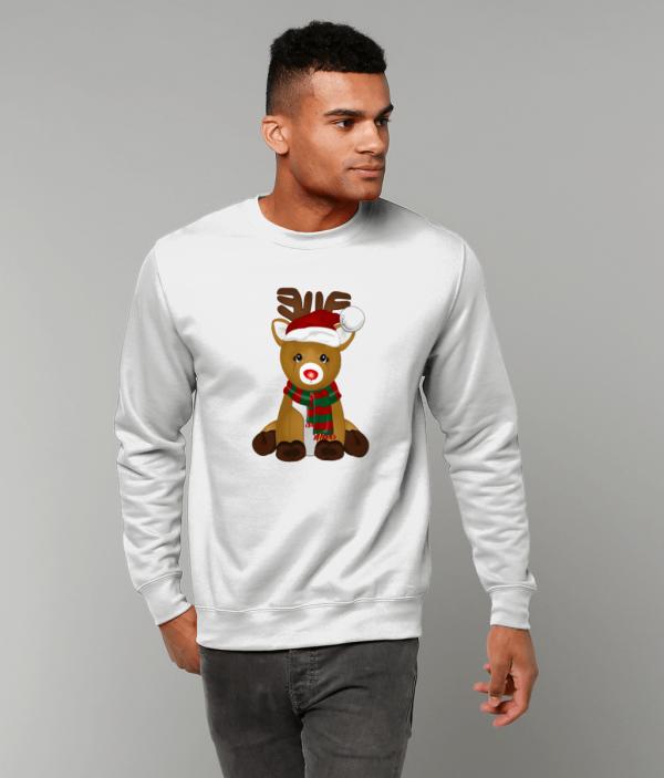Cute Reindeer Sweatshirt mm