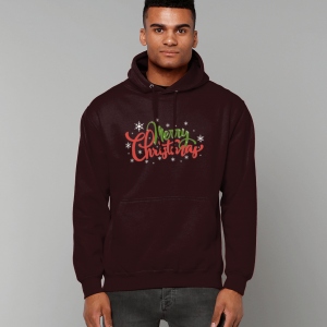Merry Christmas Hoodie Hot Chocolate