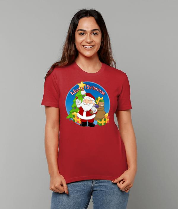 Santa Merry Xmas T-Shirt