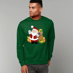Santa with Gifts Sweatshirt
