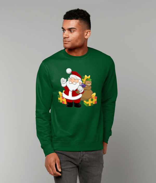 Santa with Gifts Sweatshirt