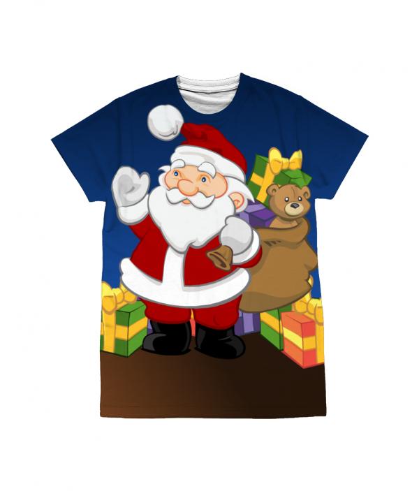 Santa with Gifts T-Shirt