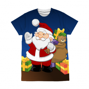 Santa with Gifts T-Shirt