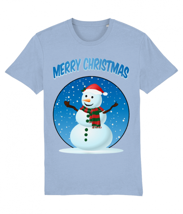 Snowman Merry Christmas T-Shirt