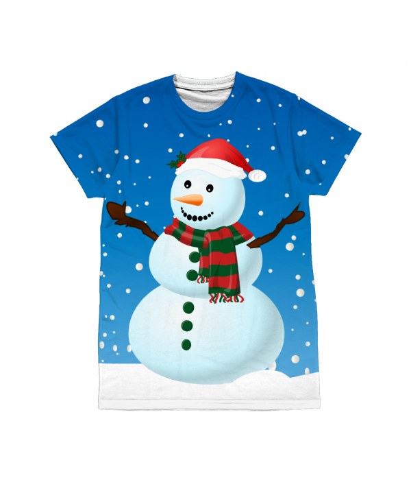 Ice Snowman T-Shirt All-over Print