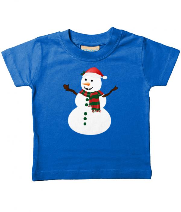 Snowman Kids T-Shirt