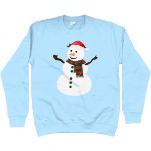 Snowman Kids Sweatshirt