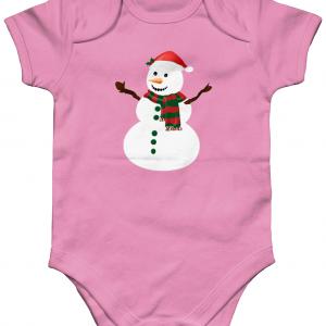 Snowman Babygrow